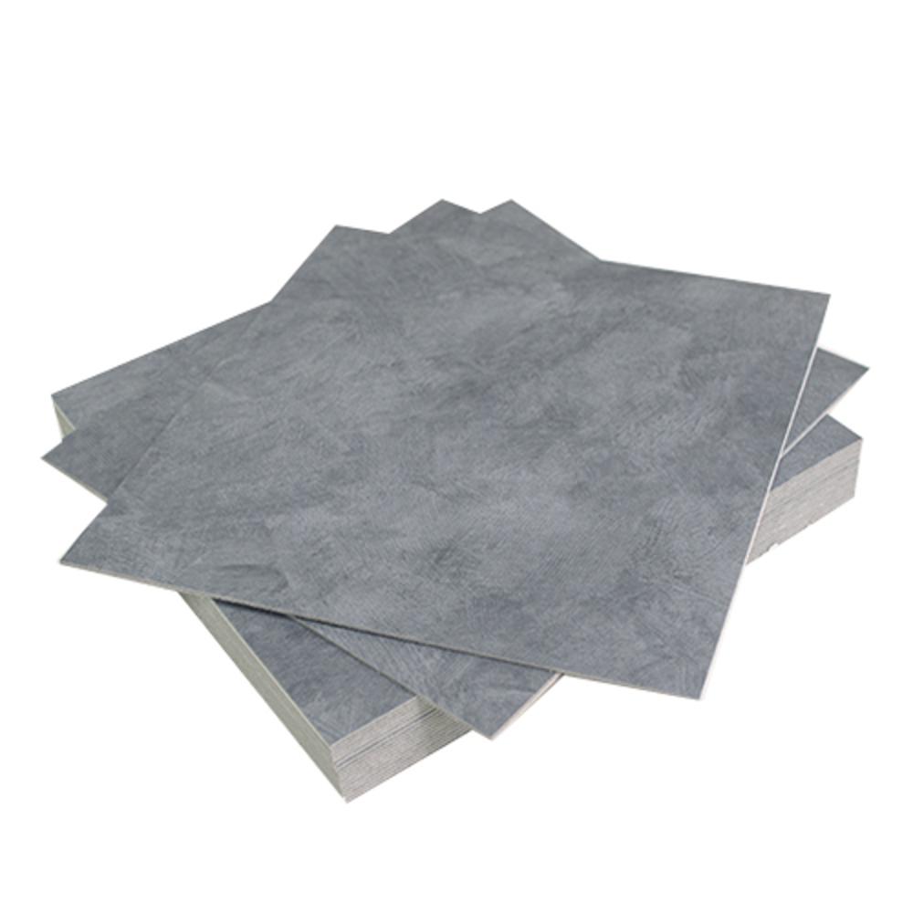 로즈로사 2T 접착식 데코타일 30 x 30 cm, 콘크리트 블루 그레이, 18개