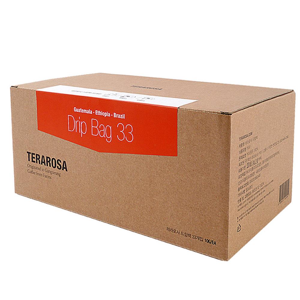 테라로사 드립백 커피, 10g, 33개