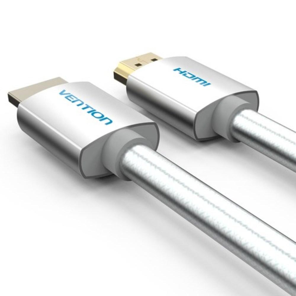 벤션 아이언실버 코튼 4K HDMI 2.0 케이블, 1개, 15m