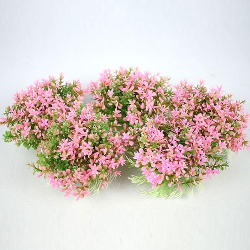 모비딕 수족관 장식용 핑크조화 090-036J, 5개입