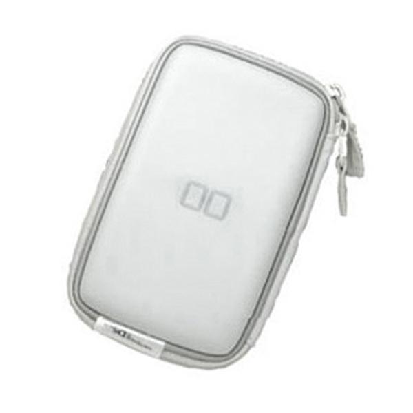 호리 닌텐도DS Lite 전용 하드 수납 파우치, 화이트, 1개