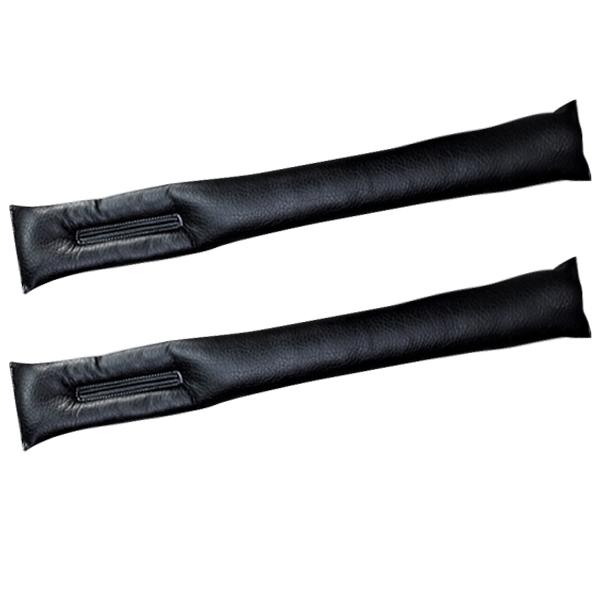 블럭마트 카시트 틈새커버 2p, 블랙