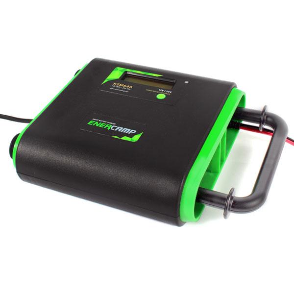 에너캠프 차량용 스마트 배터리 충전기 KSM640, 1개