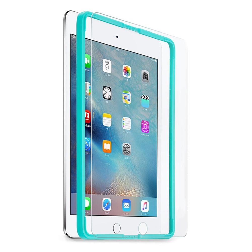 이에스알 풀커버 가이드 태블릿PC 강화유리, 단일 색상
