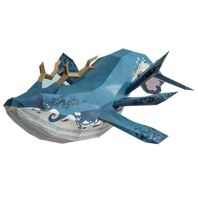 톰텐 DIY 페이퍼 크래프트 고래의 비행, 카이