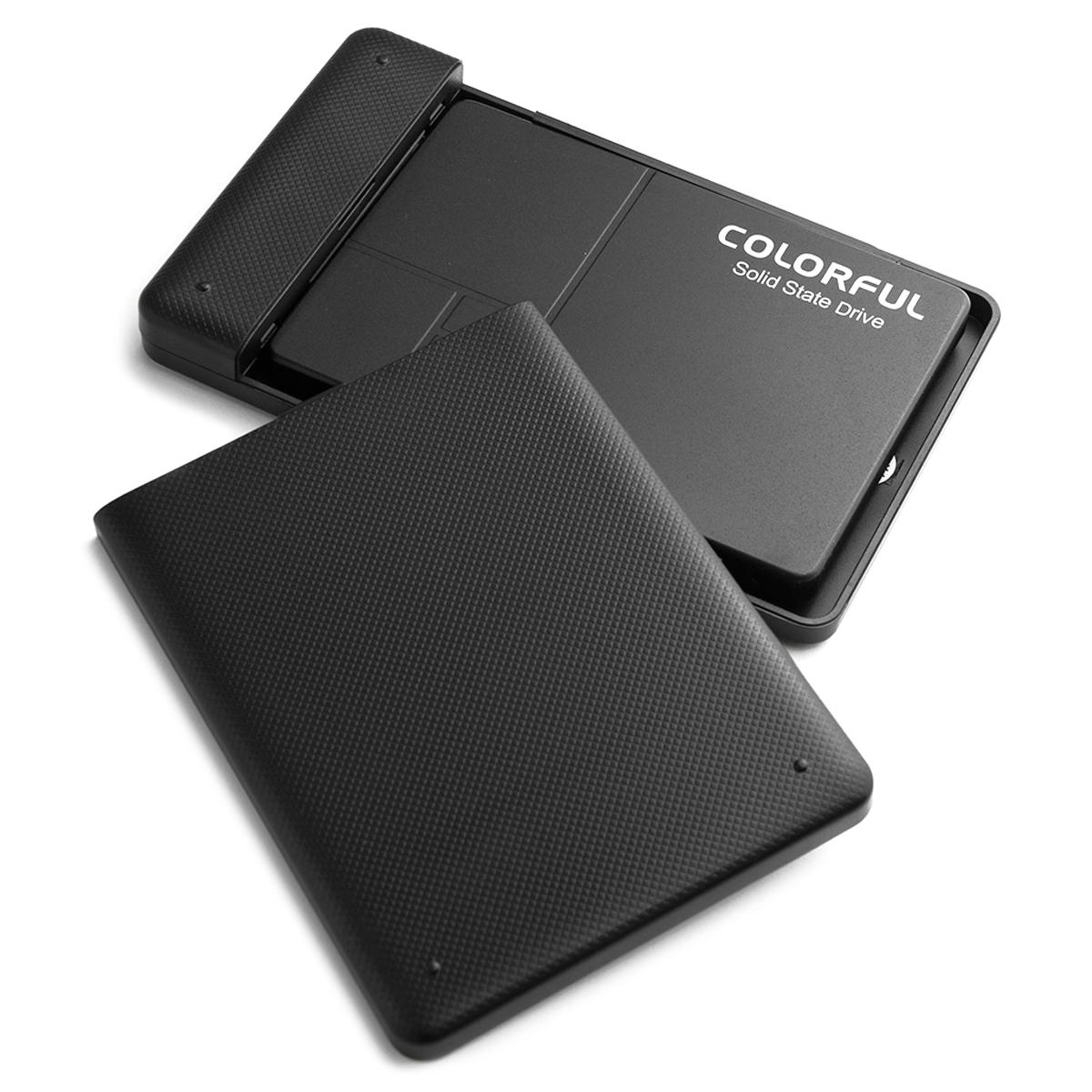 컬러풀 Solid State Drive + 외장하드 케이스 SSD, SL500 ONYX Q, 240GB