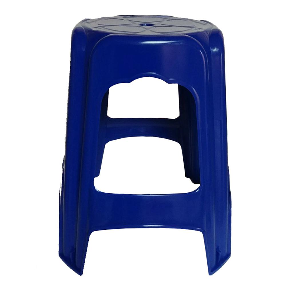 투에이산업 수정 사각의자, 블루