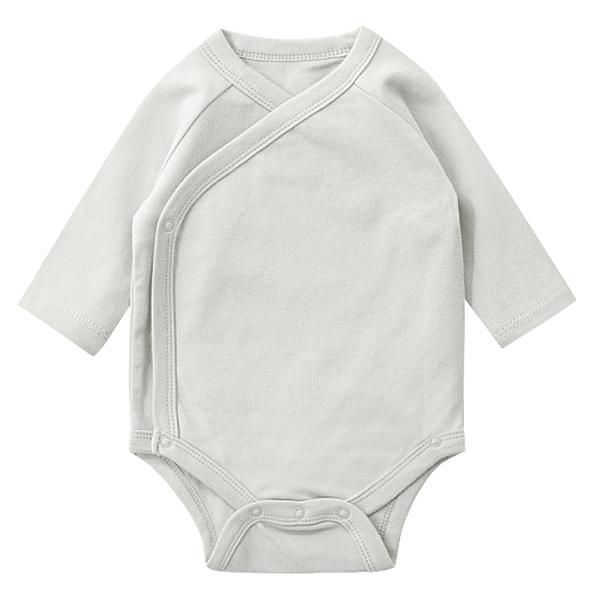 네리로즈 신생아용 심플 풀스냅 배냇 긴팔 바디수트