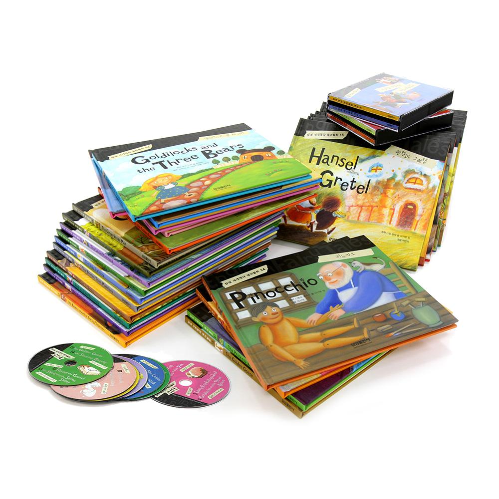세계명작 영어동화 30권 세트 + CD 8장 세트, 삼성출판사