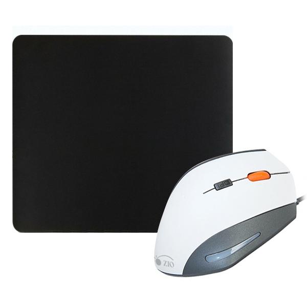 ZIO 인체공학 버티컬 마우스 ERGO900 + 프리미엄 대형 게이밍 마우스패드 Gz-MP450, 마우스(ERGO900), 패드(Gz-MP450), 마우스(화이트), 패드(혼합 색상)