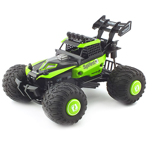 레프리카 2.4GHz 1/28 2WD DIY Monster Truck RTR RC 카 ZC172828GR, 혼합 색상