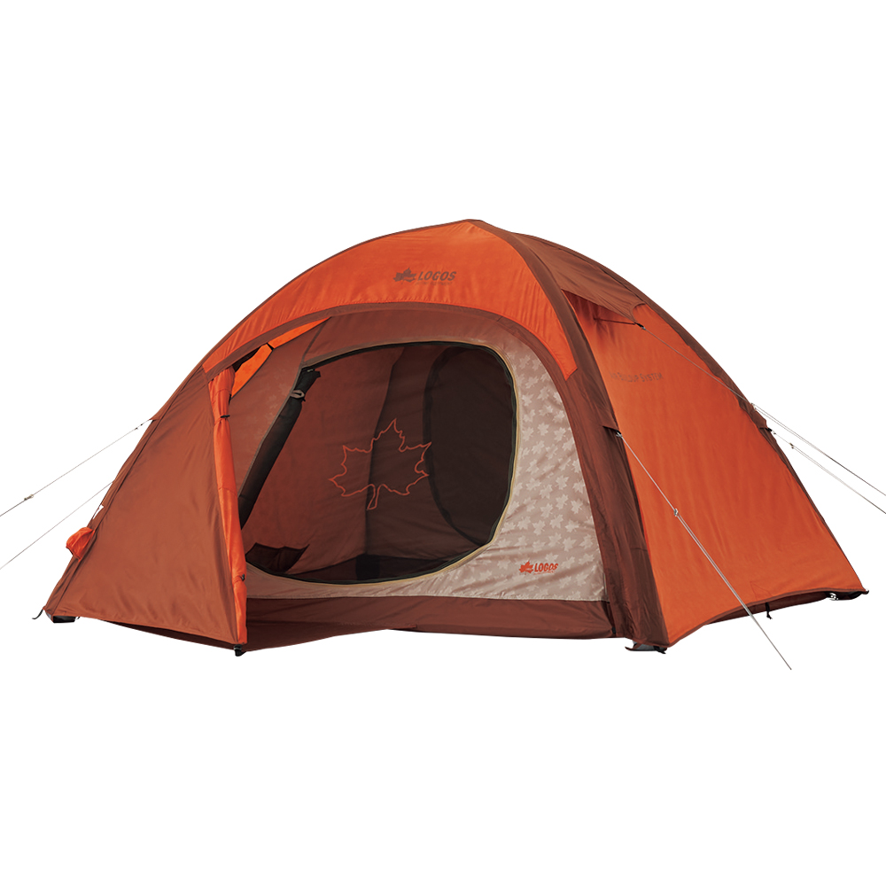 로고스 에어튜브 프레임 돔 텐트 M, 혼합 색상, 3~4인용