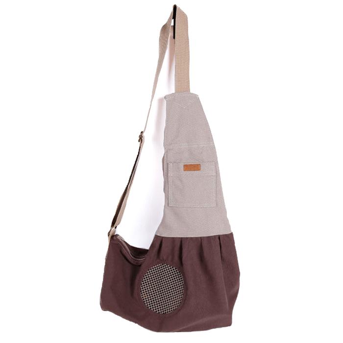 Dr.Mini 반려동물 통풍 숄더 가방, 랜덤 발송