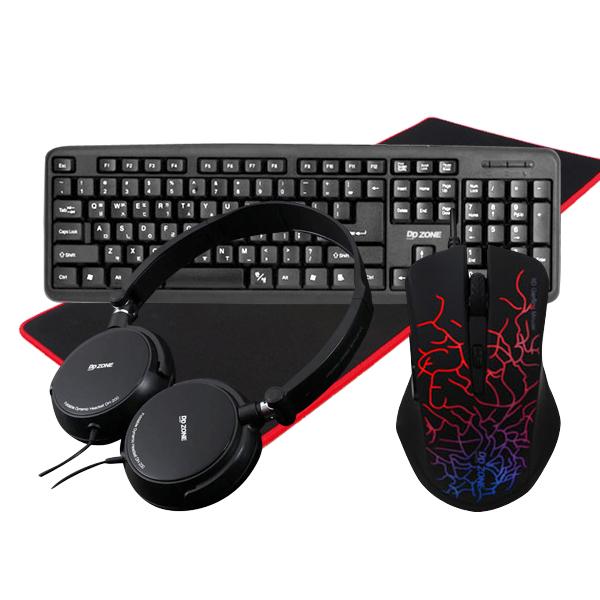 [추천]  DDZONE PS2 키보드 + 카멜레온 LED 게이밍마우스 + GOON 게이밍 장패드 + 접이식 헤드셋, 키보드(DK-201), 마우스(DM-G 할인!!