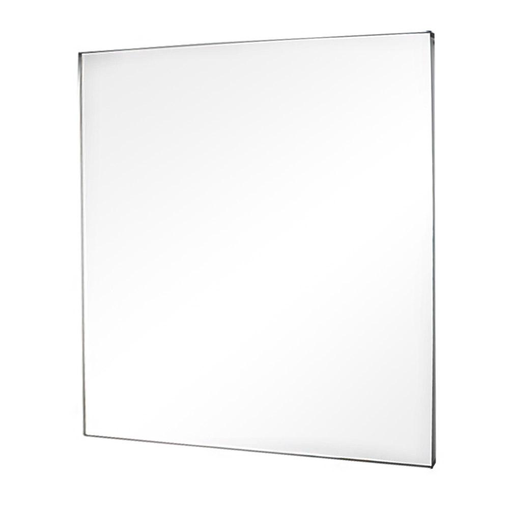 미노아 욕실용 누드거울 800 x 800, 실버
