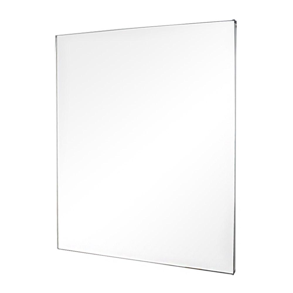 미노아 욕실용 누드거울 600 x 800, 실버