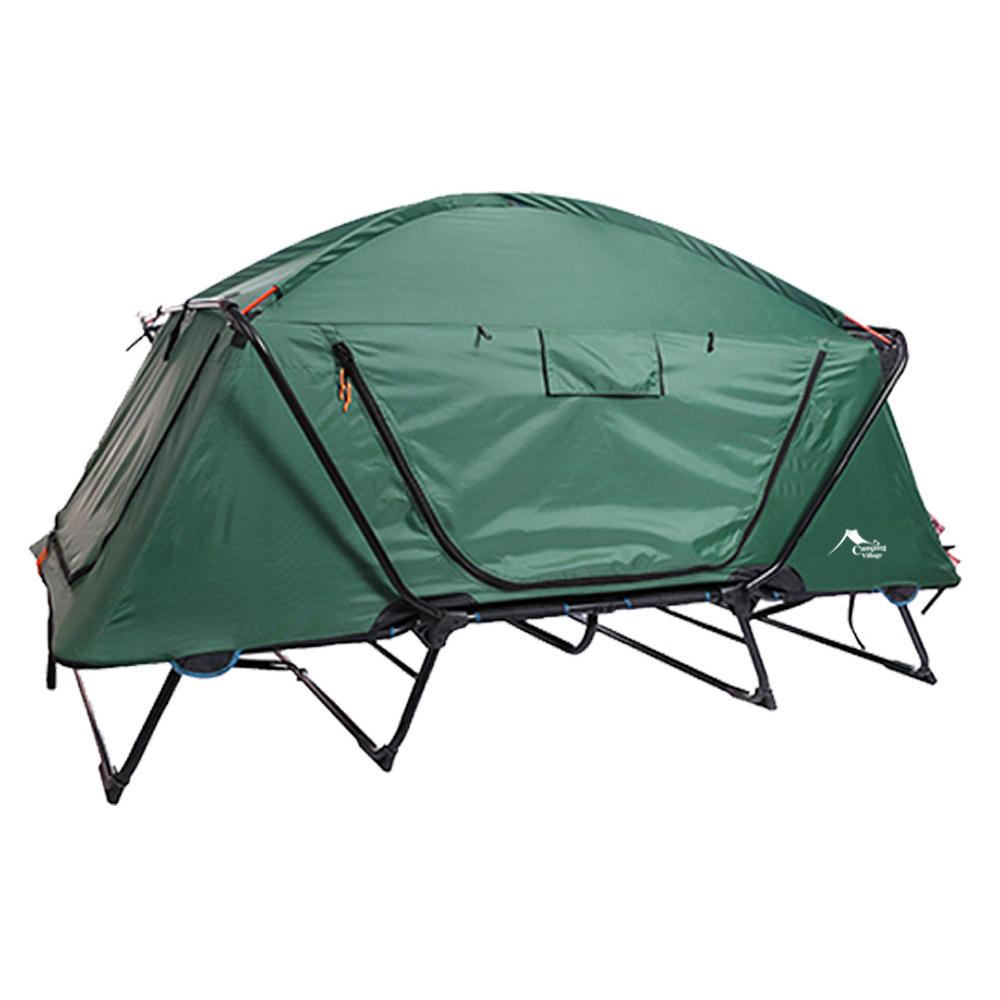 캠핑마을 코트 캠핑 텐트, 그린, 1인용