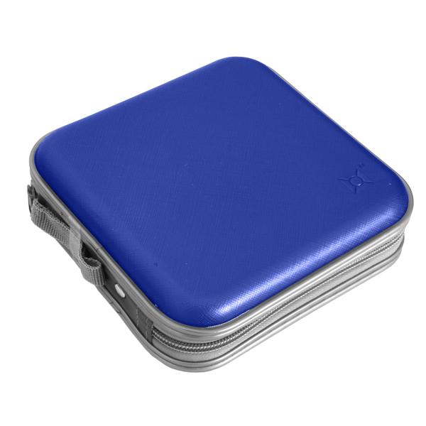 노트케이스 40매 수납 CD 케이스 NCD-4001, NCD-4001(블루)