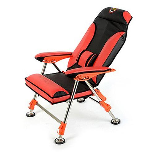 SOM 섬 프리미엄 골드 쿠션 낚시의자 의자, 초록, 1개