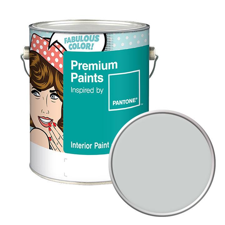 노루페인트 친환경 수성페인트 팬톤페인트 인테리어 4L 무광 조색, Dawn Blue 13-4303