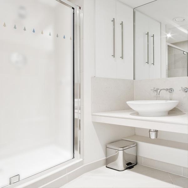 디자인수풀 북유럽 스타일 샤워 윈도우 시트지, SW735