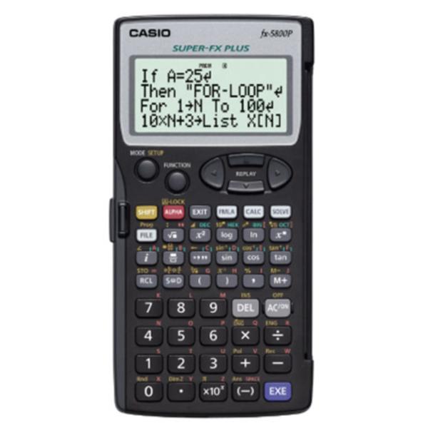 카시오 공학용 계산기, FX-5800P
