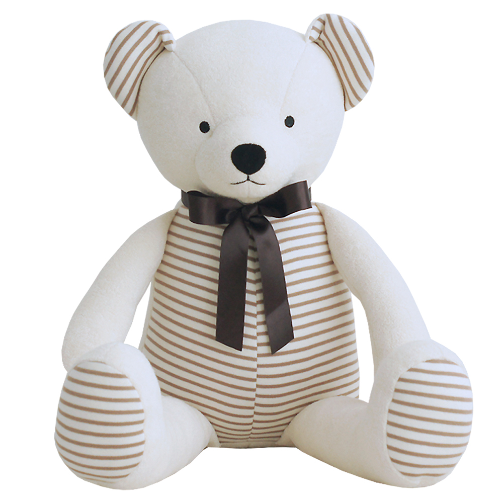 밀리언달러베이비 오가닉인형 애착웅 곰 XL, 42cm, 아이보리