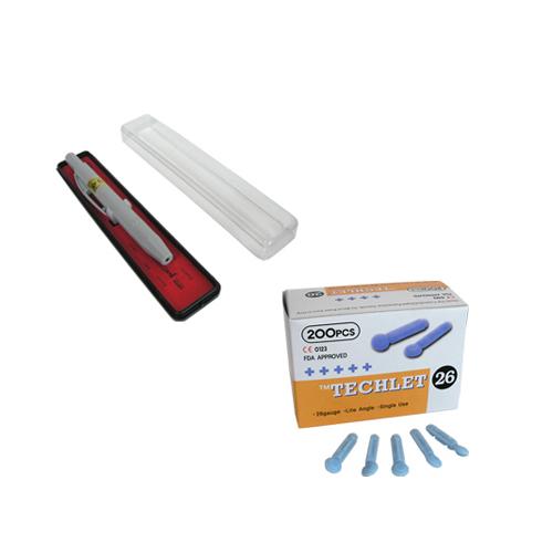 한솔부항기 PVC 사혈기 + 1회용 수동란셋 랜덤 발송 200p, 1세트