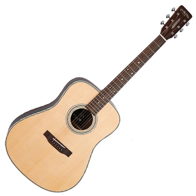 코로나 이데아 Vintage 통기타 DR900EQ + 헤드폰 + 어쿠스틱 기타 입문 교본, NS(무광)