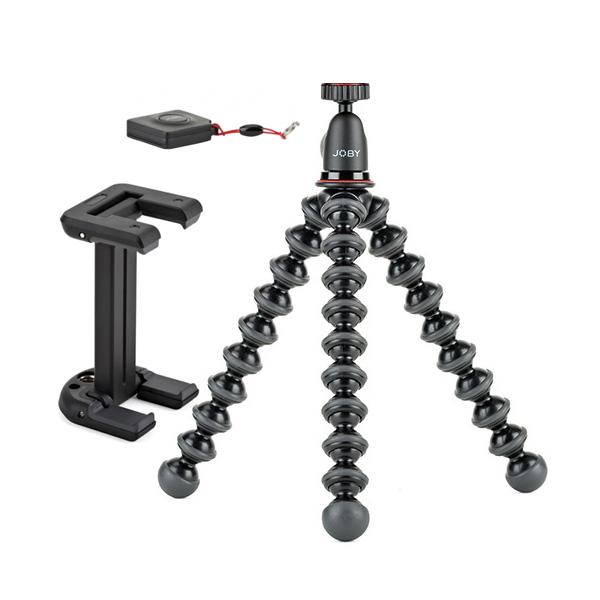 조비 고릴라 스마트폰 삼각대 GorillaPod 1K Kit + GripTight ONE Mount Black + 블루투스 리모콘