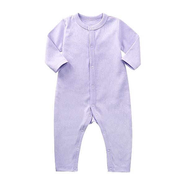 네리로즈 신생아용 심플 풀스냅 우주복