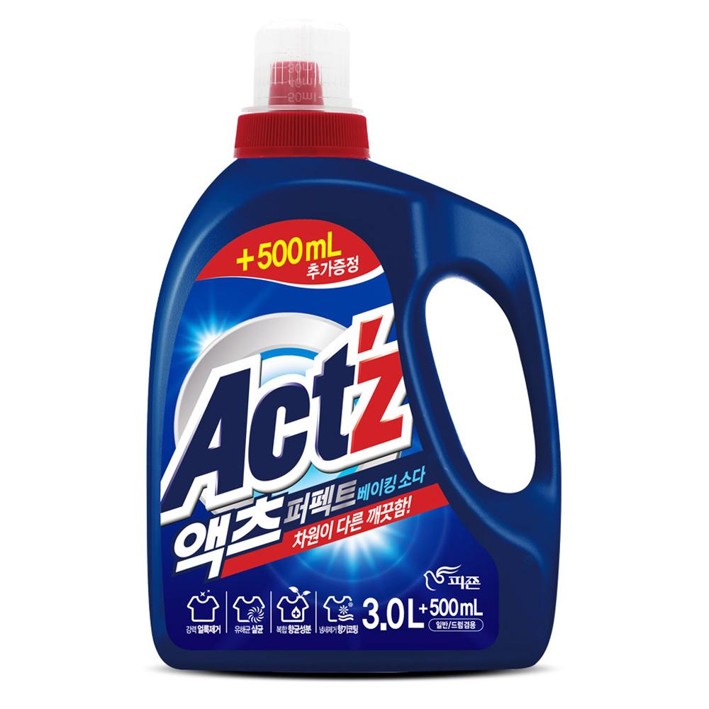 액츠 퍼펙트 베이킹소다 액상세제 본품, 1개, 3.5L
