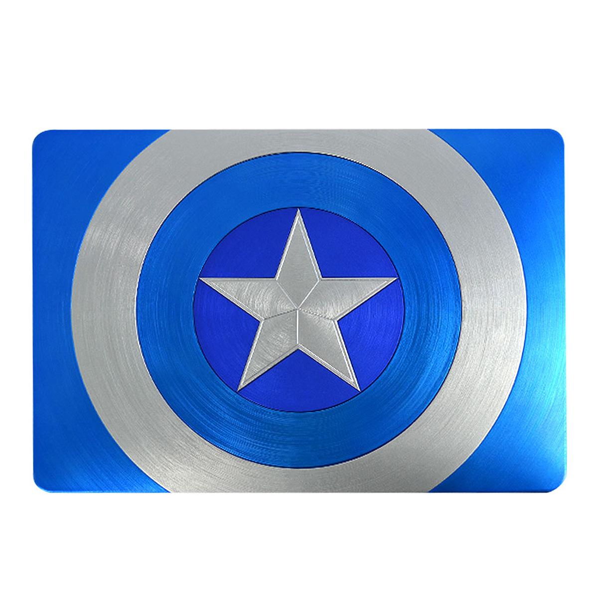 아이스토리 캡틴아메리카 맥북 프로 케이스 IST-CAPMB13, BLUE(BL), 13in