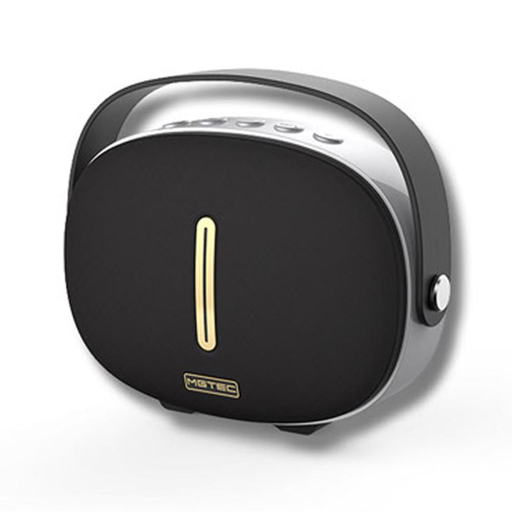 엠지텍 블루투스 스피커, Q80 Mini, 블랙