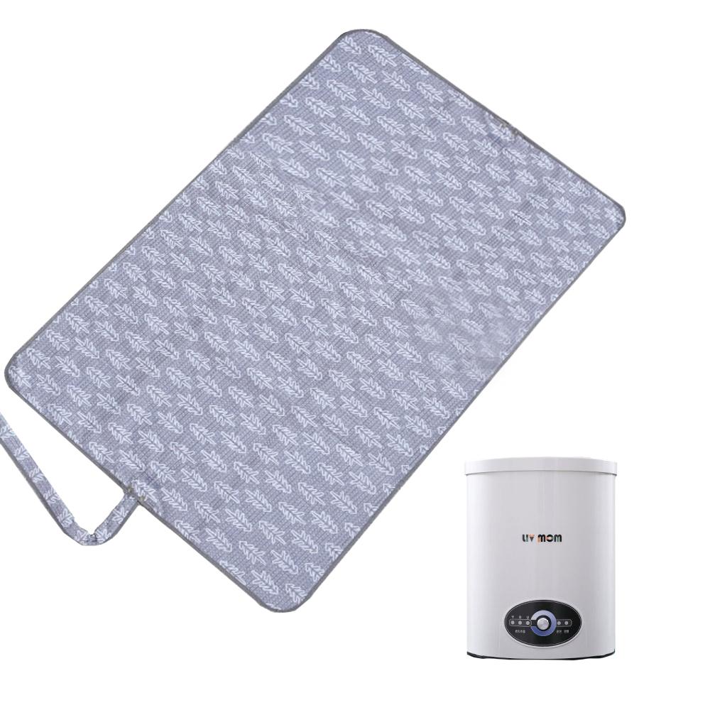 리브맘 아이스방 쿨매트 더블 SMART-3000, 매트(100 x 145 cm), 보일러(20 x 26 cm)