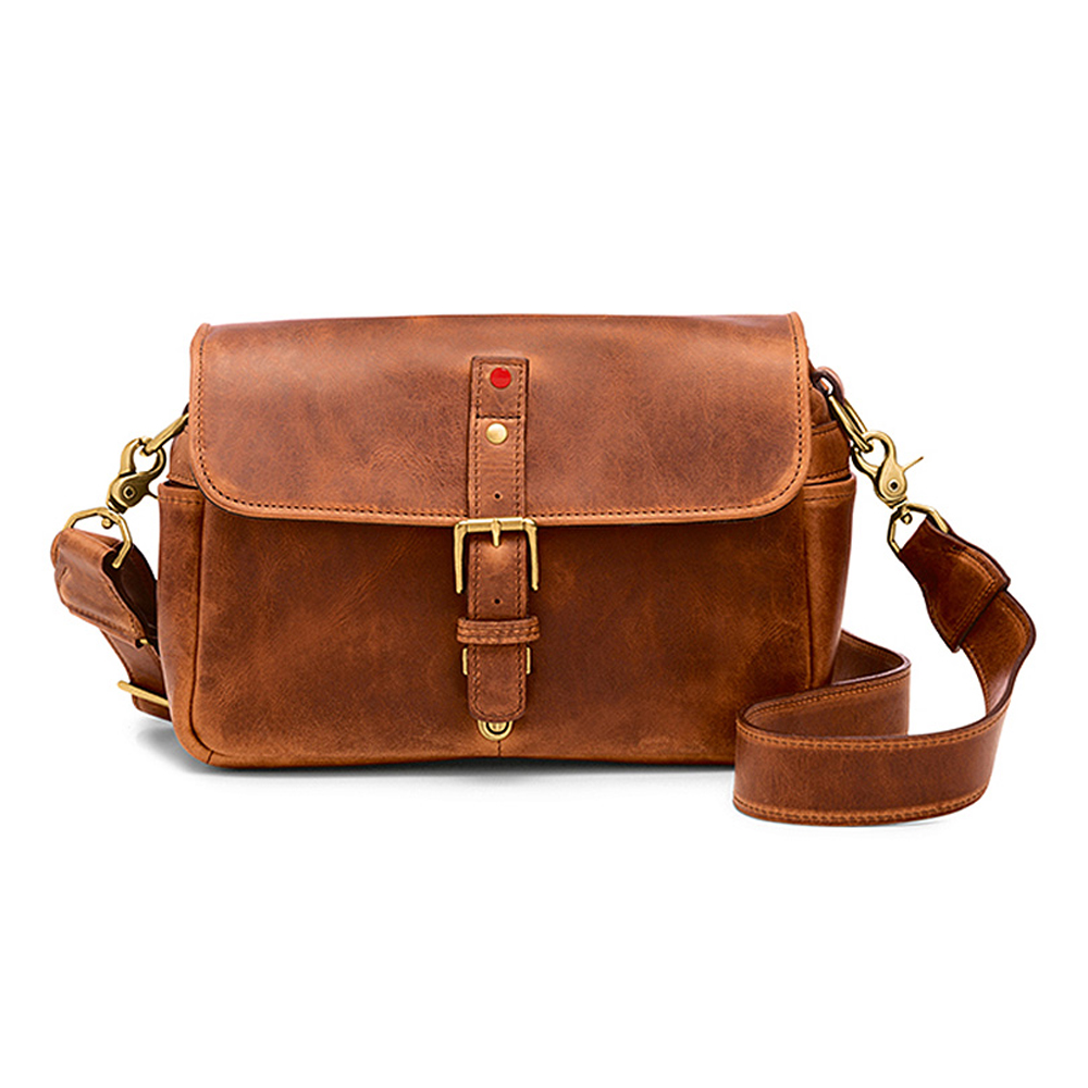 ONA Bowery for Leica Leather 카메라 숄더백, Anique Cognac