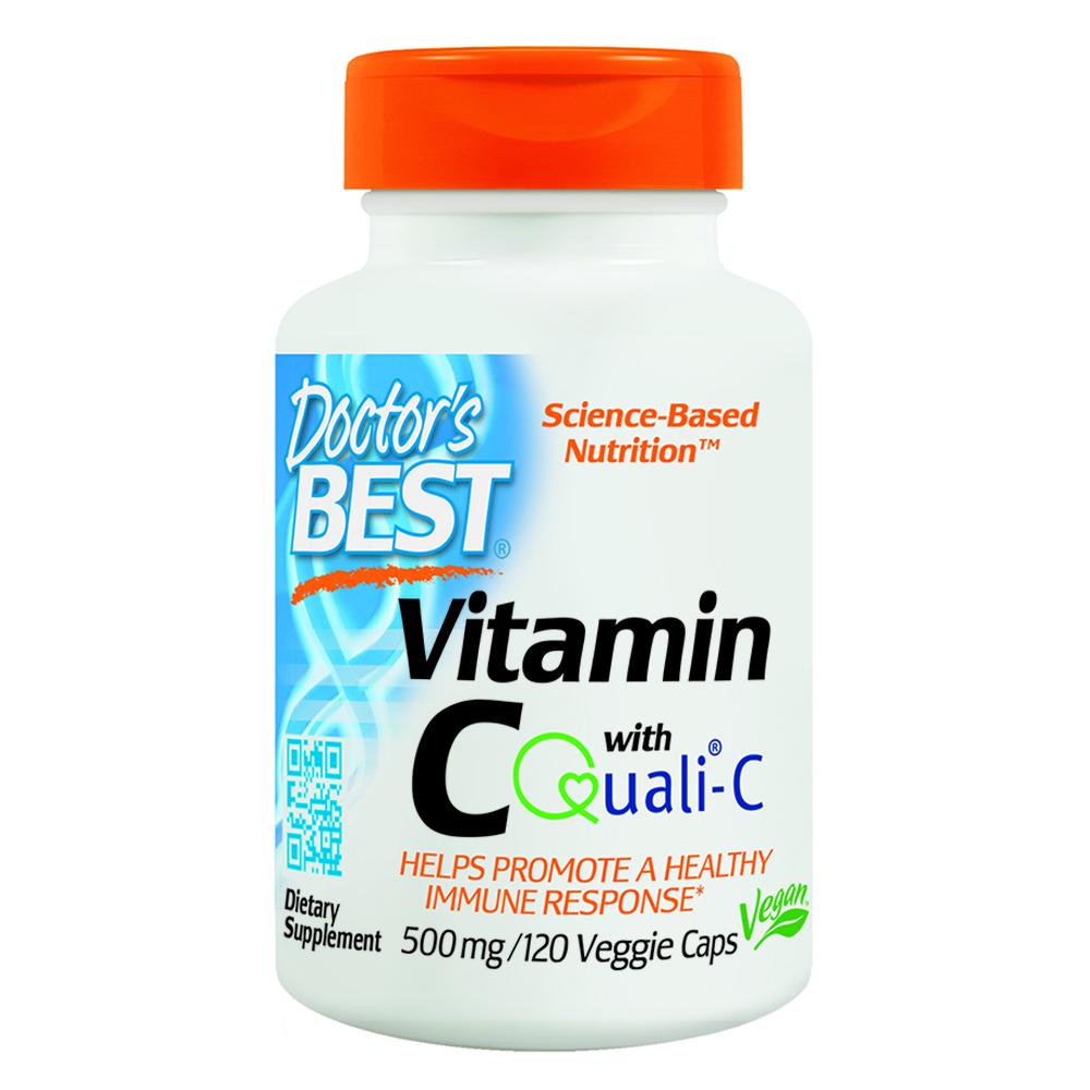 닥터스베스트 비타민 퀄리C 500mg 베지캡슐, 120캡슐, 1개