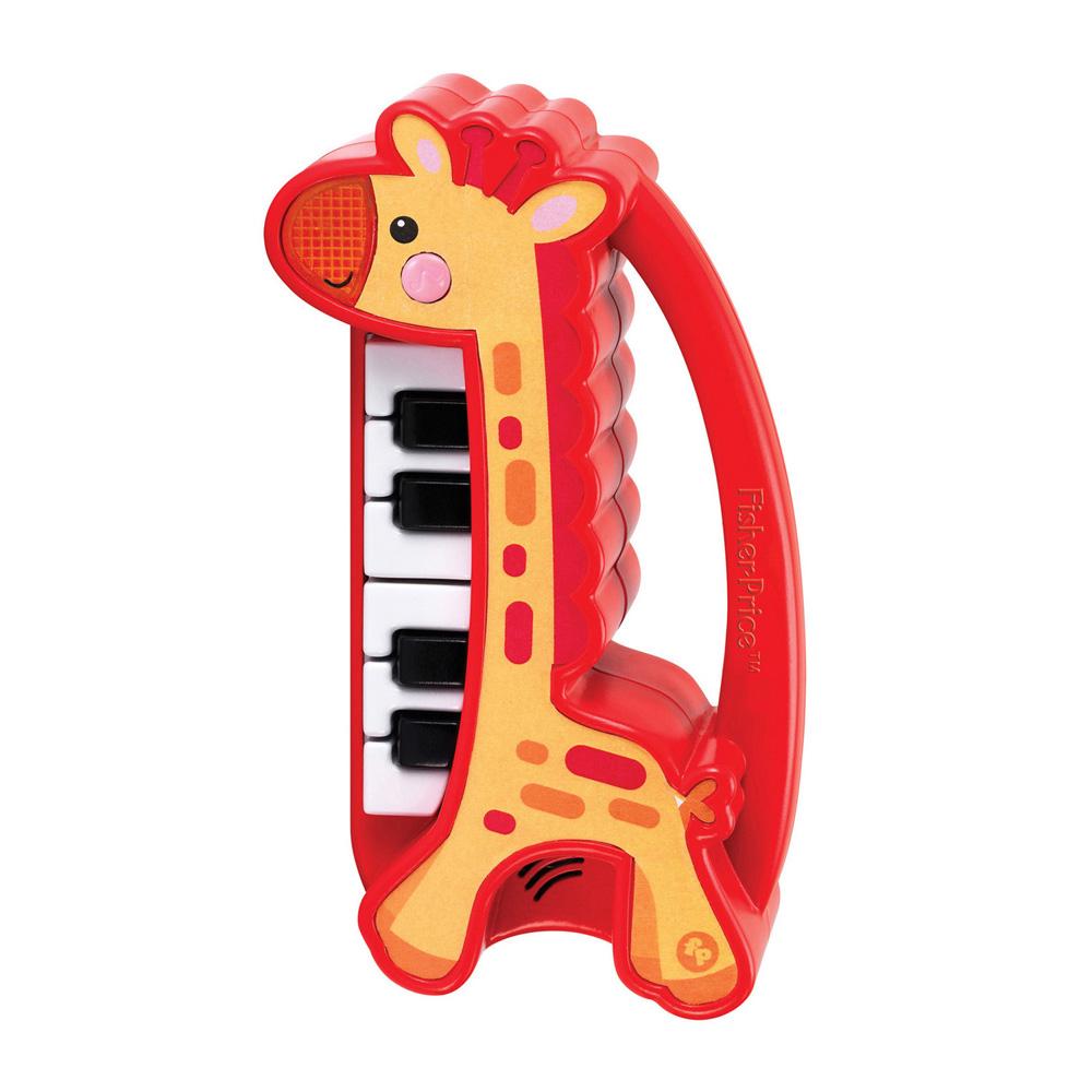 피셔프라이스 Kids Station Toys 마이 퍼스트 리얼 피아노, 혼합 색상