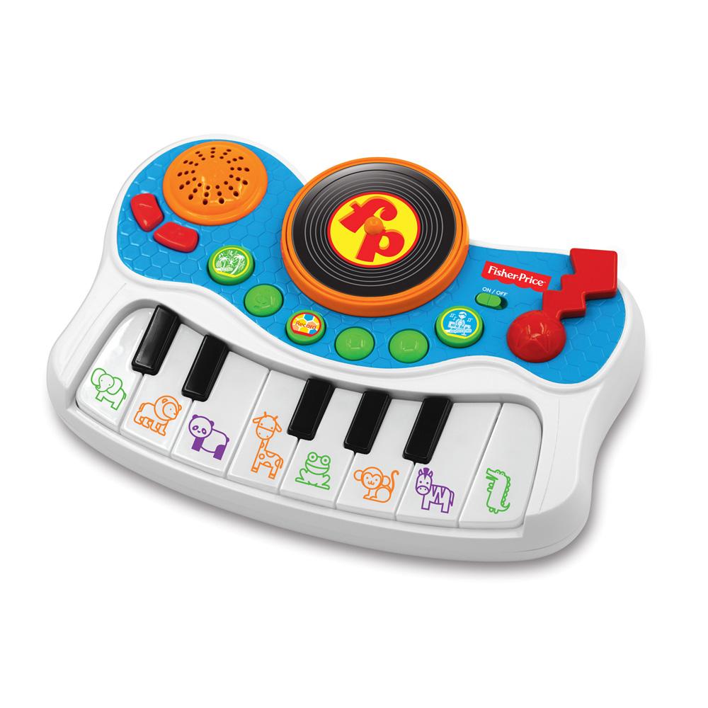 피셔프라이스 Kids Station Toys 뮤지컬 키즈 스튜디오 KFP2464, 혼합 색상