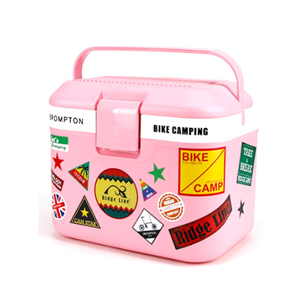 릿지라인 아이스박스, 핑크, 22L
