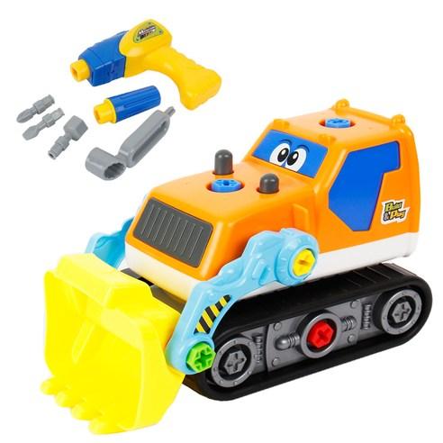 [Toyplus] 전동 공구 자동차 5종 /중장비 기차 헬리콥터