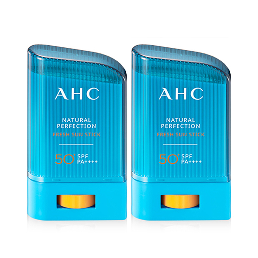 A.H.C 내추럴 퍼펙션 프레쉬 선스틱 SPF50+ PA++++, 22g, 2개입-15-87752899