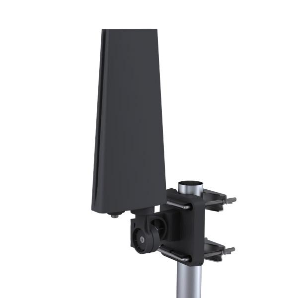 컴스마트 디지털TV 안테나 수신기 실외용 방수지원 검정, GK506