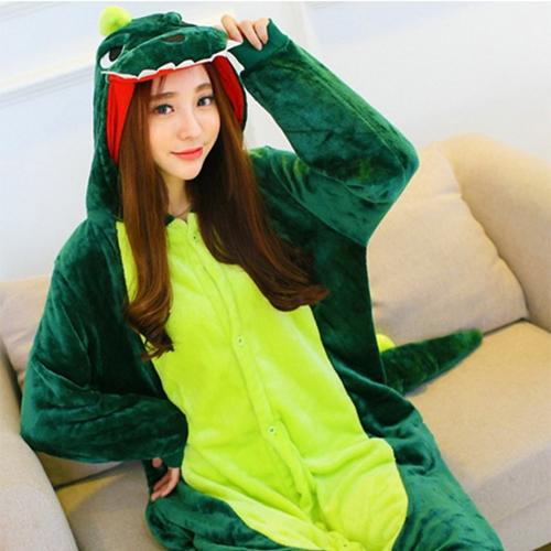 파티복닷컴 동물잠옷 파티소품 초록 공룡 X008