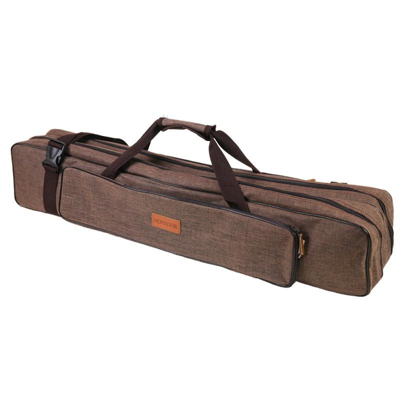 노마드캠핑 타프 폴대 가방, 브라운, 1개