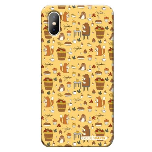 맞춤 이니셜 케이스-숲속파티(옐로우)_001_(아이폰 갤럭시 LG) 갤럭시 S7
