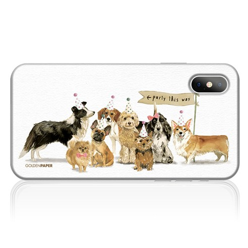 이니셜 강아지 케이스-가족_004_(아이폰 갤럭시 LG) 갤럭시 S6