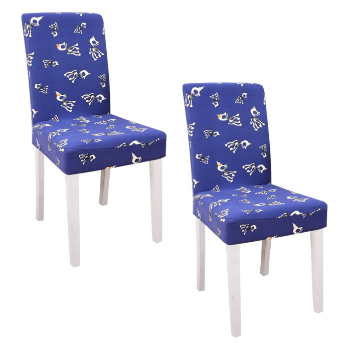 스토어33 패턴 디자인 키친 식탁의자커버 2p, J