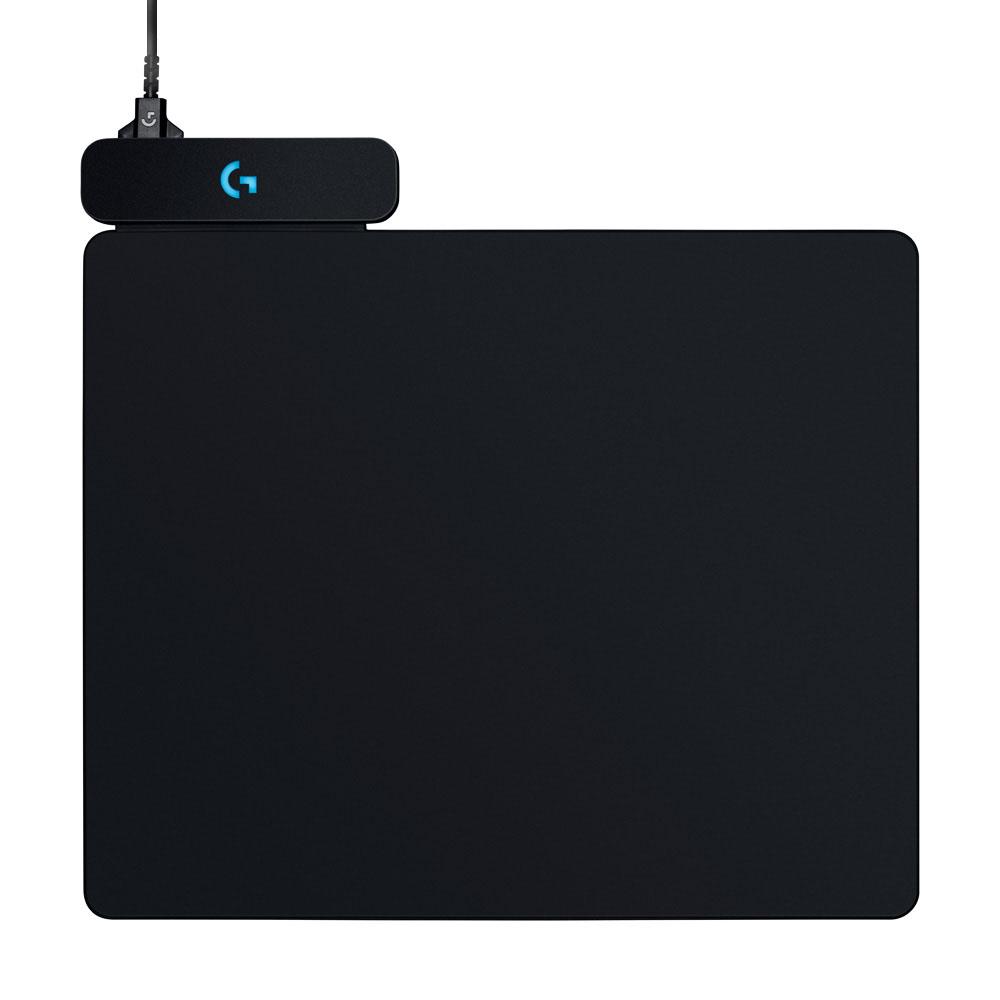 로지텍 PowerPlay 무선 충전 마우스패드, 혼합 색상, 1개