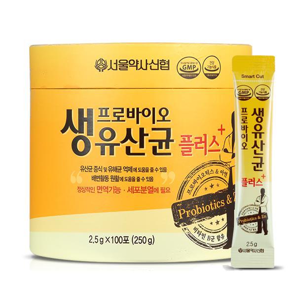 서울약사신협 프로바이오 생유산균 플러스 100포, 250g, 1개